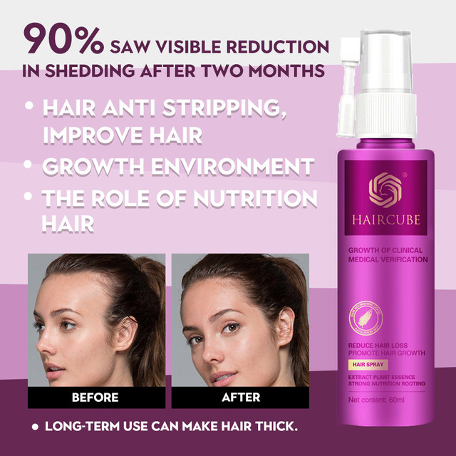Hair Growth Treatment Oil for Anti Hair Loss Essence Fast Thick Hair Eyebrows Support Natural Healthy Hair Treatment for Women 1