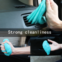 Clean Soft Rubber Car Supplies Interior Air Conditioning Outlet Dust Removal Mud Corner Gap Sticky Artifact