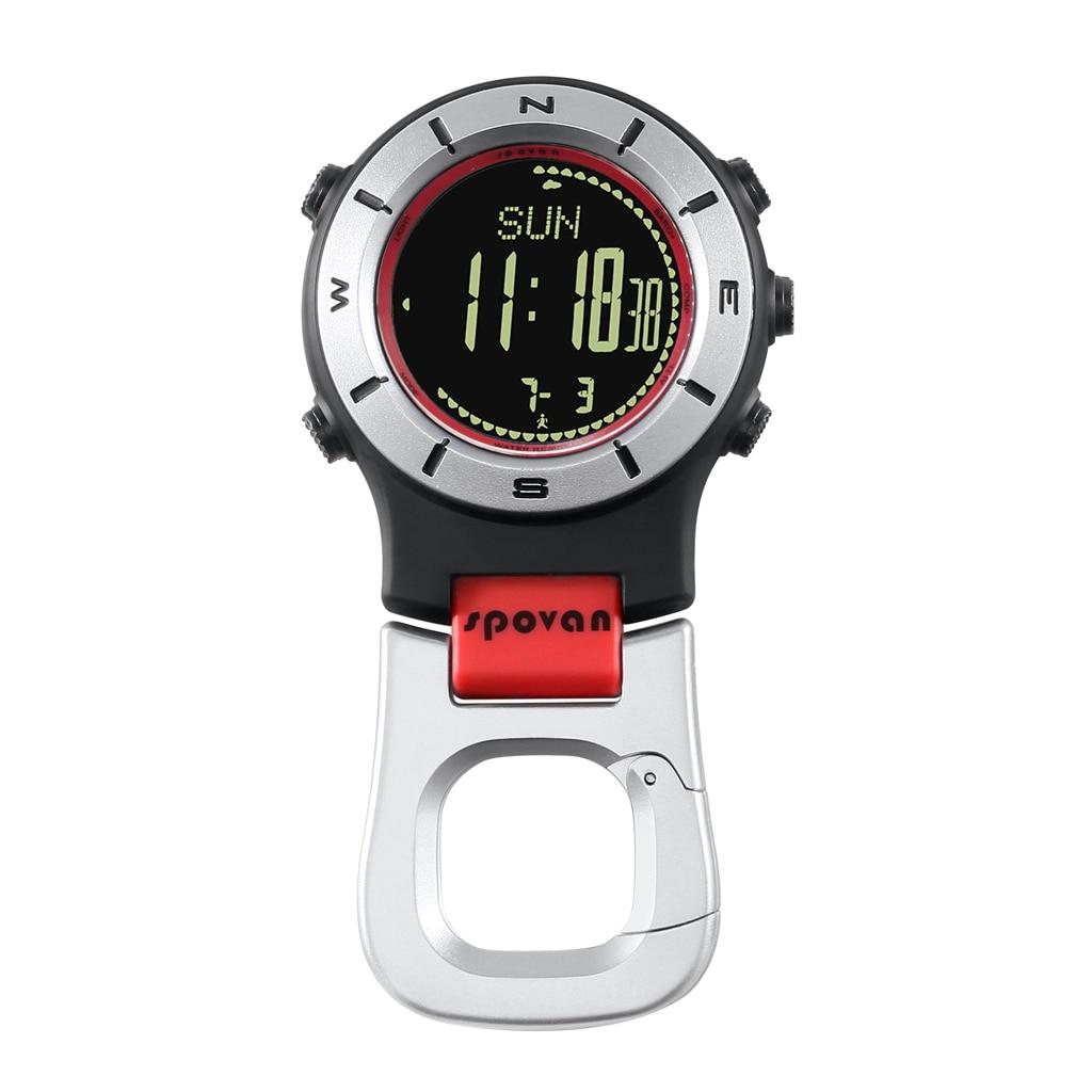 Étanche Spovan Element II multifonction Sports de plein air montre de poche baromètre altimètre thermomètre boussole chronomètre