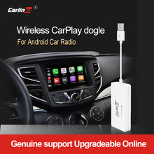 Carlinkit Nirkabel Smart Link Apple Carplay Dongle untuk Android Navigasi Pemain Mini USB Carplay Stick dengan Android Auto Hitam(China)