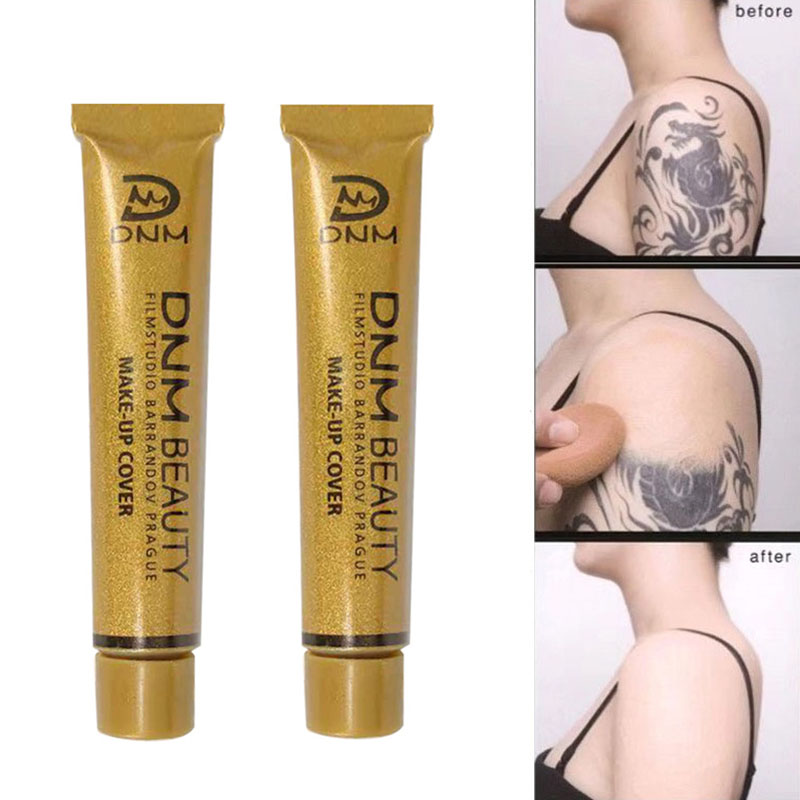 DNM High Covering Face Concealer Cream Contour Pallete Foundation Full Cover Waterproof Make Up Lip Face Pores Cosmetic TSLM1