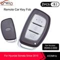 KEYECU Keyless-Go Smart Remote Auto Key Fob 3 Taste 433MHz 8A Chip für Hyundai Sonata Seit 2015 PN: 95440-C3000