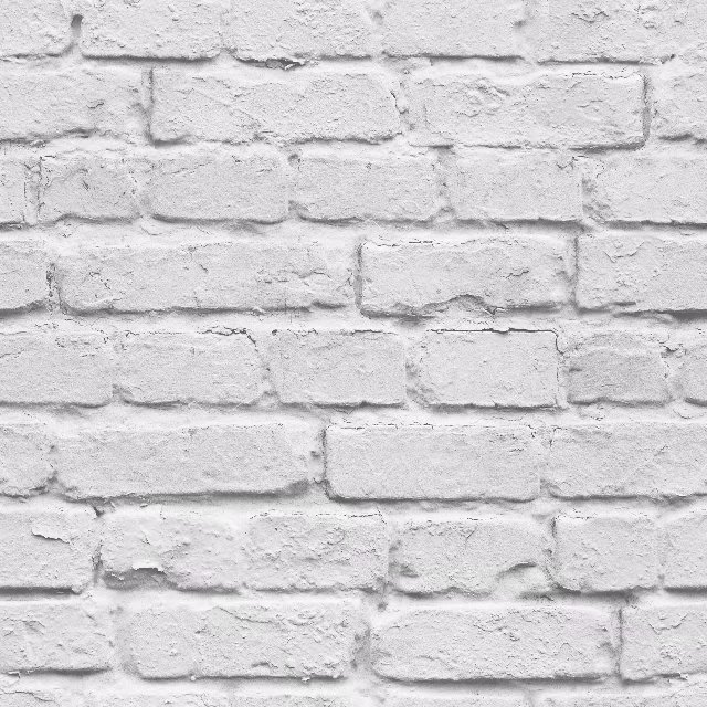 3D White Brick Effect Wallpaper Roll Light Grey Modern Vintage Rustic Vinyl PVC Faux Brick Wall Paper Living Room Bedroom Decor