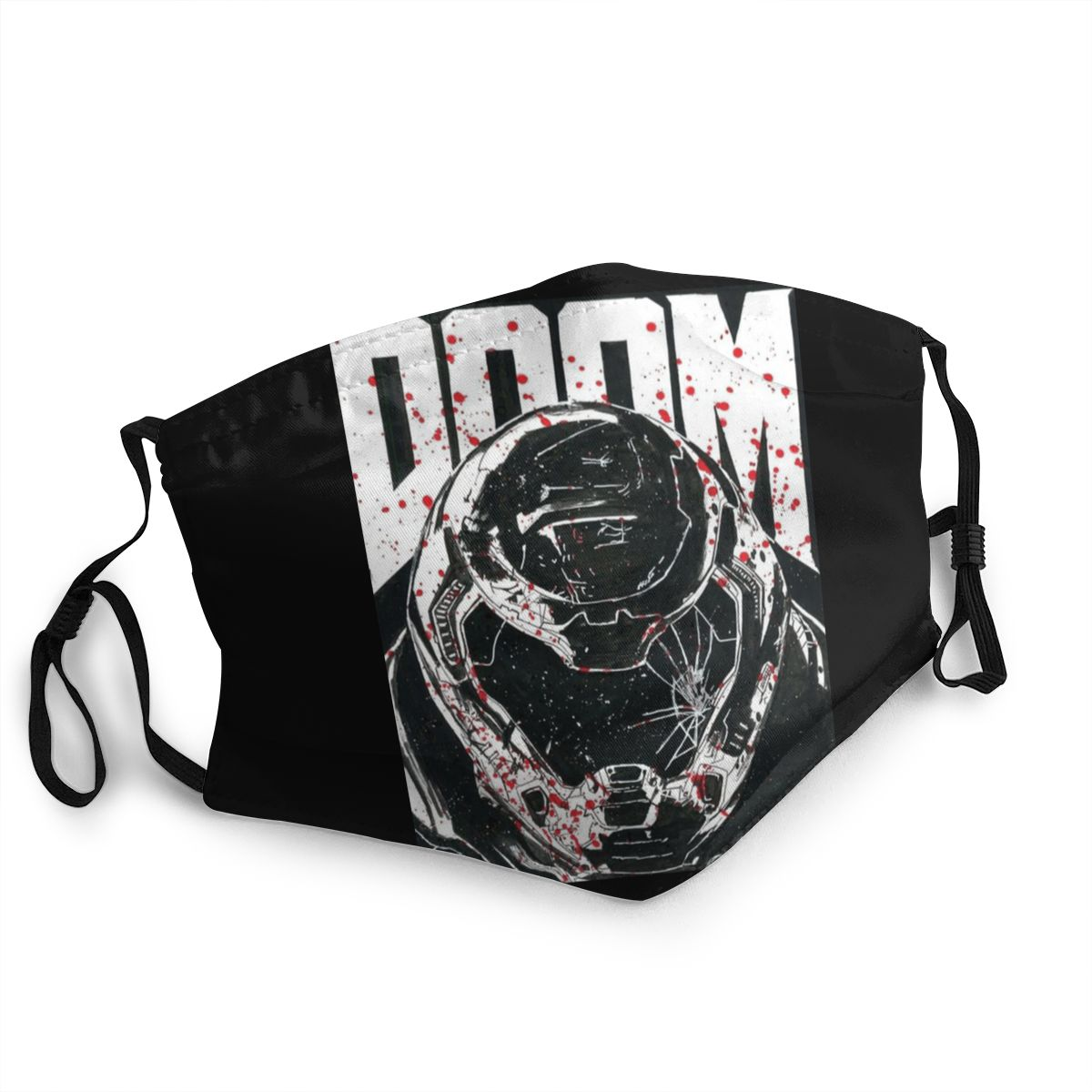 Doom Eternal Non-Disposable Mouth Face Mask Doomguy Cacodemon Anti Bacterial Dustproof Mask Protection Cover Respirator Muffle