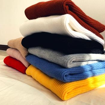 2019 Winter Men's In Warm Woolen Pullover Casual Cashmere Sweater Turtleneck Fashion Trend Knitting Multicolor Coats M-2XL