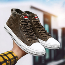 fashion men winter Flats Ankle boots warm snow size 39-44 * Lace-up shoes 2019 new arrival Casual Sneakers