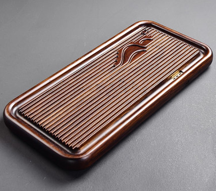 Natural Wooden Tea Tray High Quality Chinese Tea Tabl Tray Tea Set Board Bamboo Puer Tea Tray Kitchen Accessories