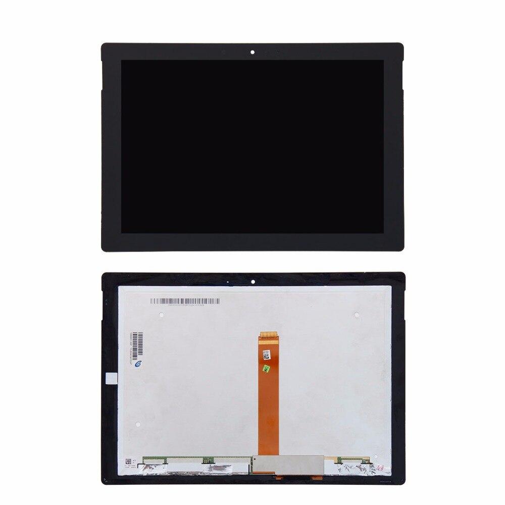 Para microsoft surface 3 rt 3 rt3 1645 display lcd tela de toque digitador assembléia painel vidro