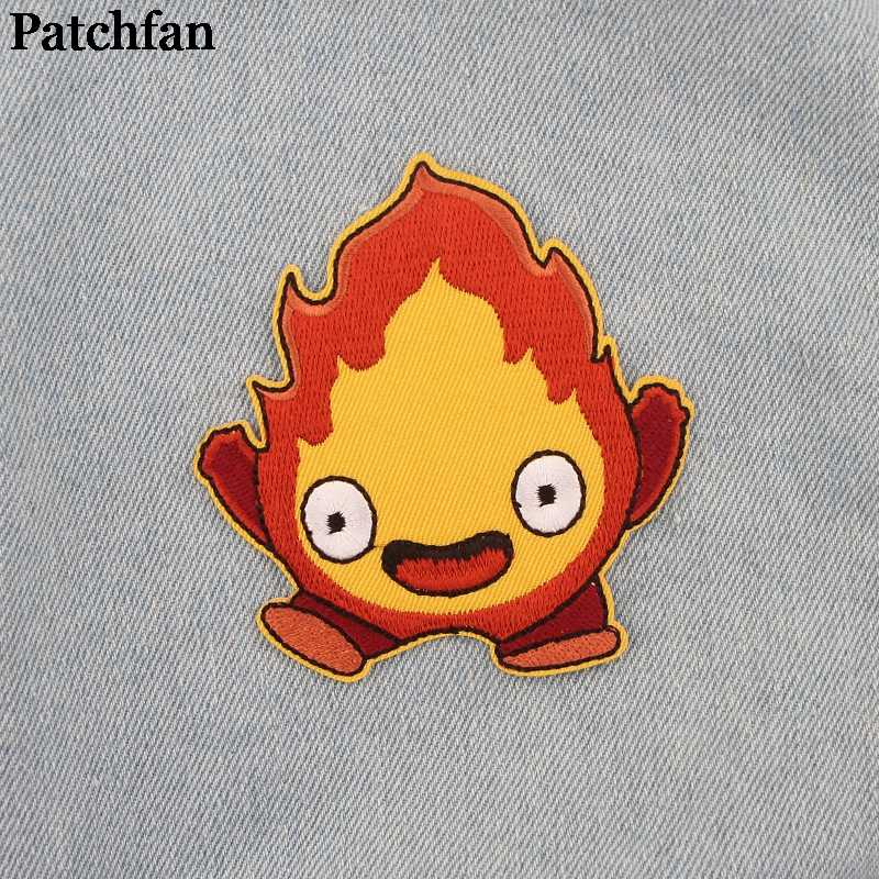 Patchfan Cartoon Iron On Patches Kleding Embroideried Patchwork Accessoires Custom Badges Groothandel A2276