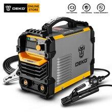 DEKO DKA-200Y 200A 4.1KVA Inverter Arc Electric Welding Machine 220V MMA Welder Welding Tool for Home/Industrial Welding Task
