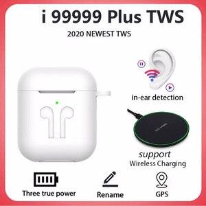 Original i99999 Plus TWS Wireless Bluetooth 5.0 Earphone Wireless Earbuds 8DPK i99999 i90000 Pro i99000 Plus i9000MAX TWS 1:1