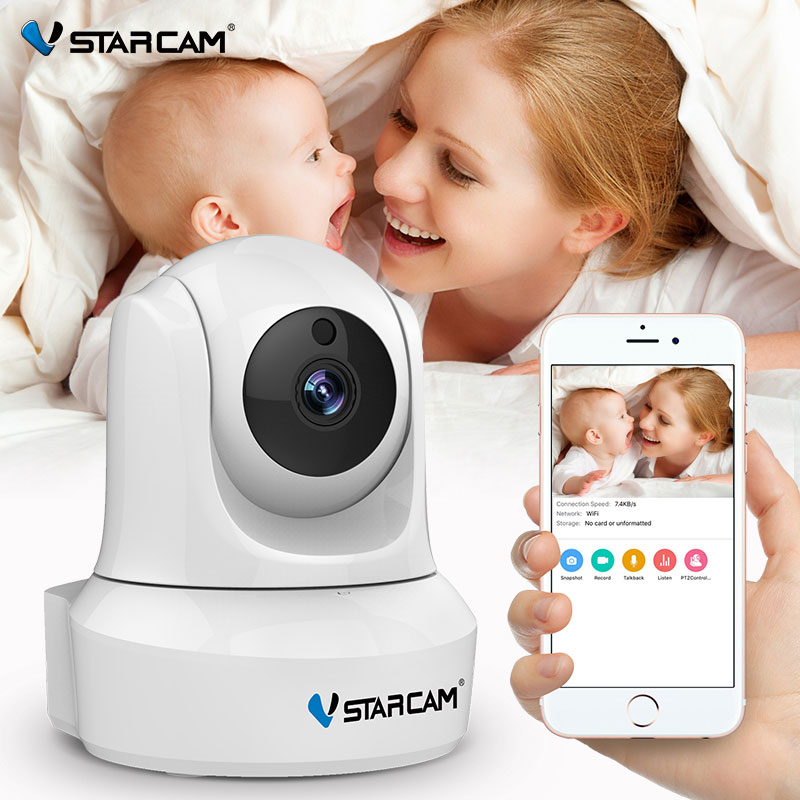 VStarcam 720P IP -kamera Wifi IR Night Vision Audio Recording Valvonta Langaton Indoor HD Web -vauvavalvontakamera