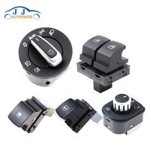Window-Switches Mirror Golf R32 Volkswagen Eos Headlight 5K3959857 Chrome-Fuel 5ND941431B