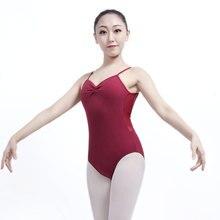Maillot de Ballet para Mujer, vestido Gimnástico de Ballet, vestido de práctica de baile para adulto, traje de cuerpo de una pieza, Darling XC 2544