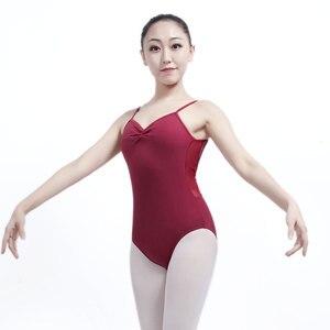 Image 1 - Maillot de Ballet para Mujer, vestido Gimnástico de Ballet, vestido de práctica de baile para adulto, traje de cuerpo de una pieza, Darling XC 2544