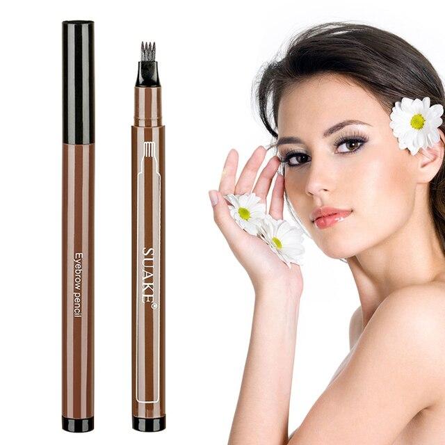 Eyebrows Enhancer Rising Eyebrows Growth Serum Eyebrow Pencil Long Lasting Professional Eyelash Growth Liquid Makeup Women 3