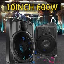 Car Subwoofer Audio-Processor Slim Super-Bass Under-Seat 800W Amplifier Speaker Powered