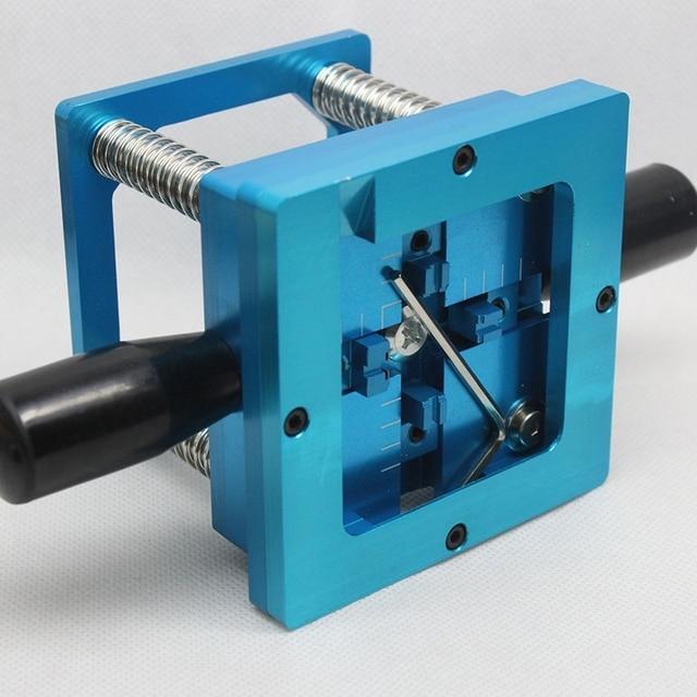 Blue Reballing Kit 90x90mm Reballing Station with Hand Shank Gift 10/PCS Universal Stencil