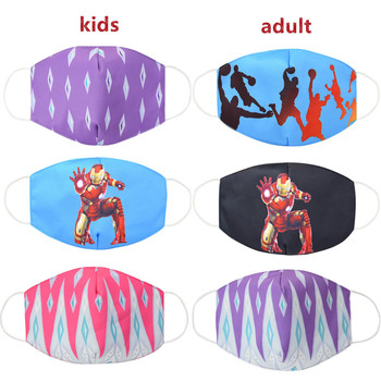 Hot  Anti Dust Face Mouth Mask Reusable Breathable Cotton Protective Children Kid Cartoon Cute  Anti-Dust Mouth Face Mask
