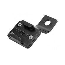 Soporte de montaje de espejo retrovisor de motocicleta de aluminio para GoPro Hero 9 8 7 6 5 Yi 4K Sjcam Sj4000 Eken accesorios de cámara