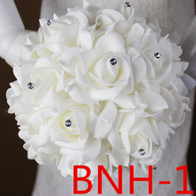 Accessoires de mariée de mariage tenant des fleurs 3303 BNH