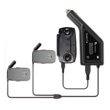 Mavic 2 Car Charger for DJI Mavic 2 Pro Drone Battery Remote with 2 Battery Ports  Fast Charging Travel Charger for DJI Mavic 2