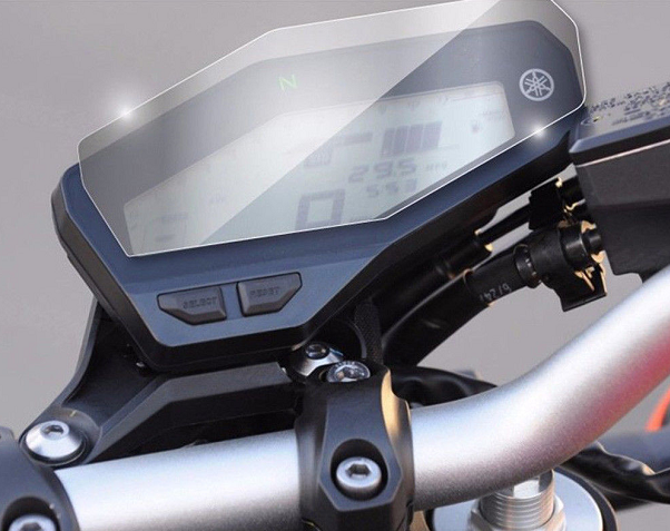 Cluster Scratch Protection Film Screen Protector For Yamaha FZ-09 MT-09 2013-2018