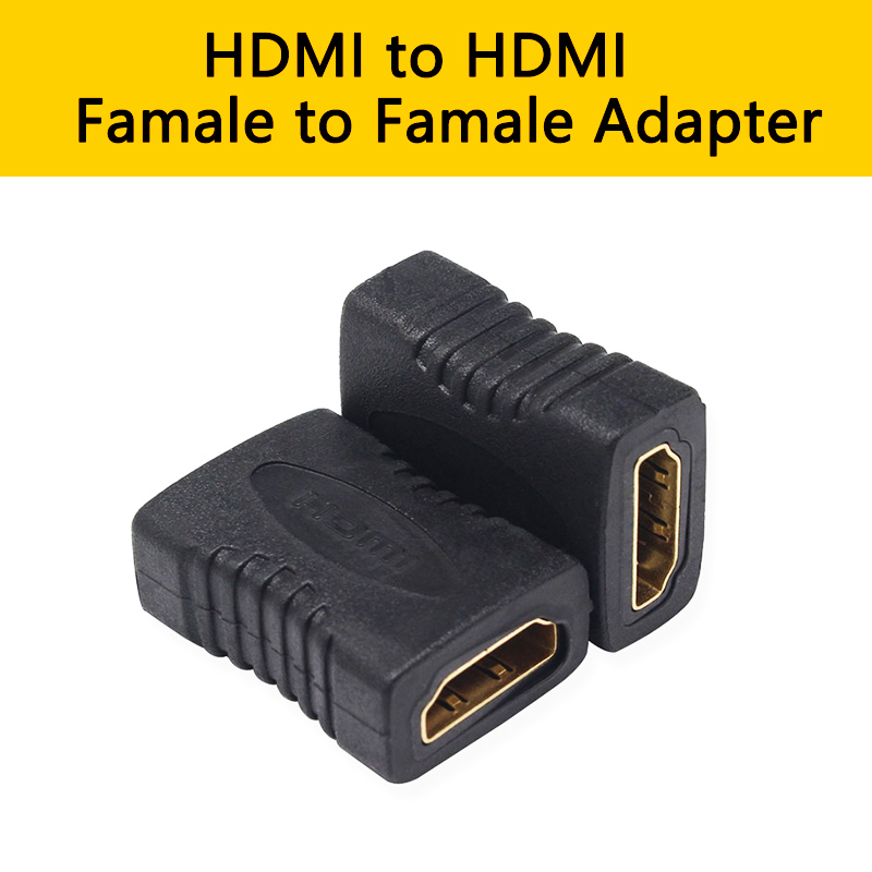 HDMI To HDMI Female Extender Cable Adapter To HD Extension Cord Connector For 1080P HDTV PS4 DVD