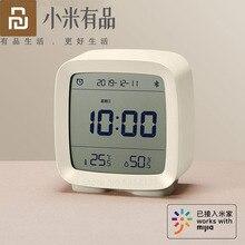 Youpin كليرغراس 3in1 بلوتوث ميزان الحرارة الرقمي الرطوبة مراقبة ساعة تنبيه ضوء الليل العمل مع Mijia App المنزل الذكي