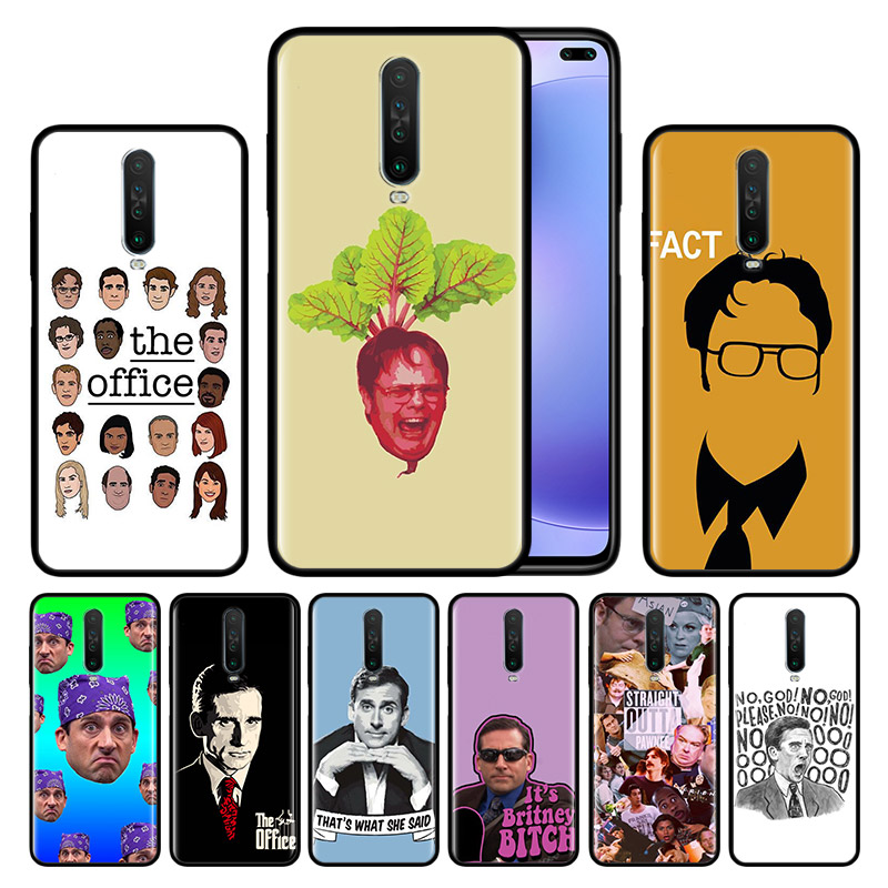 Case For Redmi Note 9 Pro 9S 9 9A 9C Note 8 8T 7 K20 K30 Pro 8 8A 7 7A 6A Soft Phone Shockproof Shell The Office Cast Meme Micha