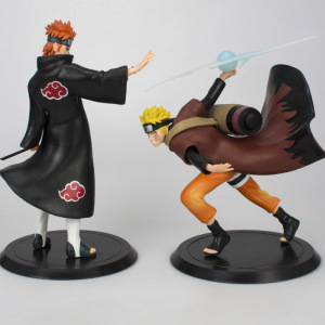 18cm Naruto Grandista Shinobi Relations Uzumaki Naruto Uchiha Sasuke Figurine PVC Figure Collection Model Kids Toys For Gift