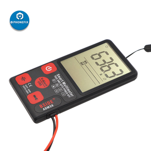 "Image 1 - ADMS9 Automatic LCD Display Digital Multimeter 3.5"" LCD 3 Line Display Voltmeter AC DC Voltage NCV Resistance Ohm Hz Tester"