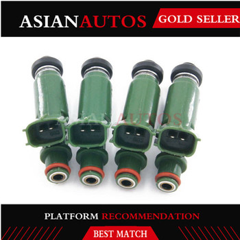 4pc-OEM 1.8L 1ZZ fuel injectors 23209-22040 23209-0D040 for Toyota bico Celica Corolla Matrix engine fuel supply injector