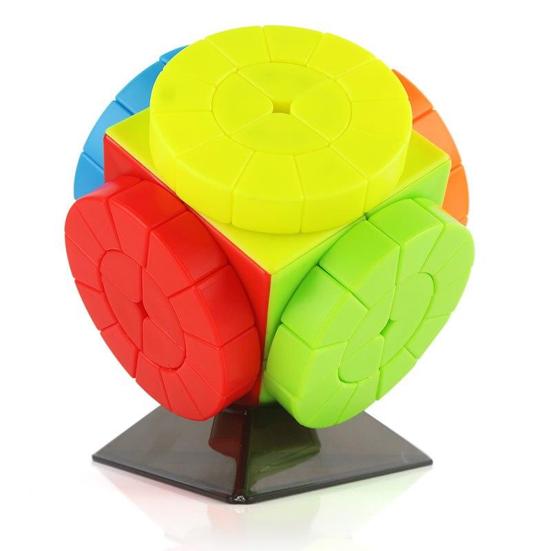 Оригинал, высокое качество, JSYouPin, машина времени, колесо, волшебный куб, мудро, скоростная головоломка, рождественский подарок, идеи
