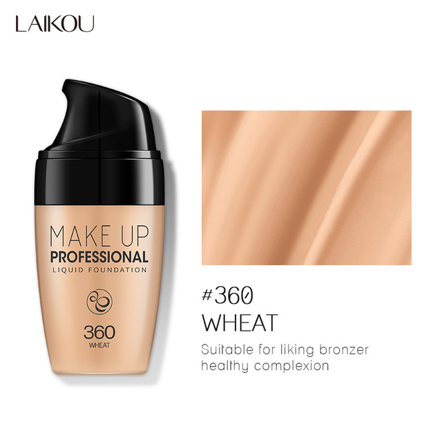 Makeup Base Face Liquid Foundation Bb Cream Concealer Moisturizer Oil Control Whitening Waterproof Liquid Foundation Maquiagem Face Foundation Aliexpress