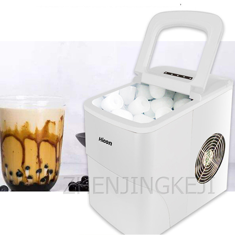 Ice Maker Home Use 220V Automatic Ice Maker Machine Small Round Ice Cube Production Tools Ice In 6 Minutes станки для бизнеса
