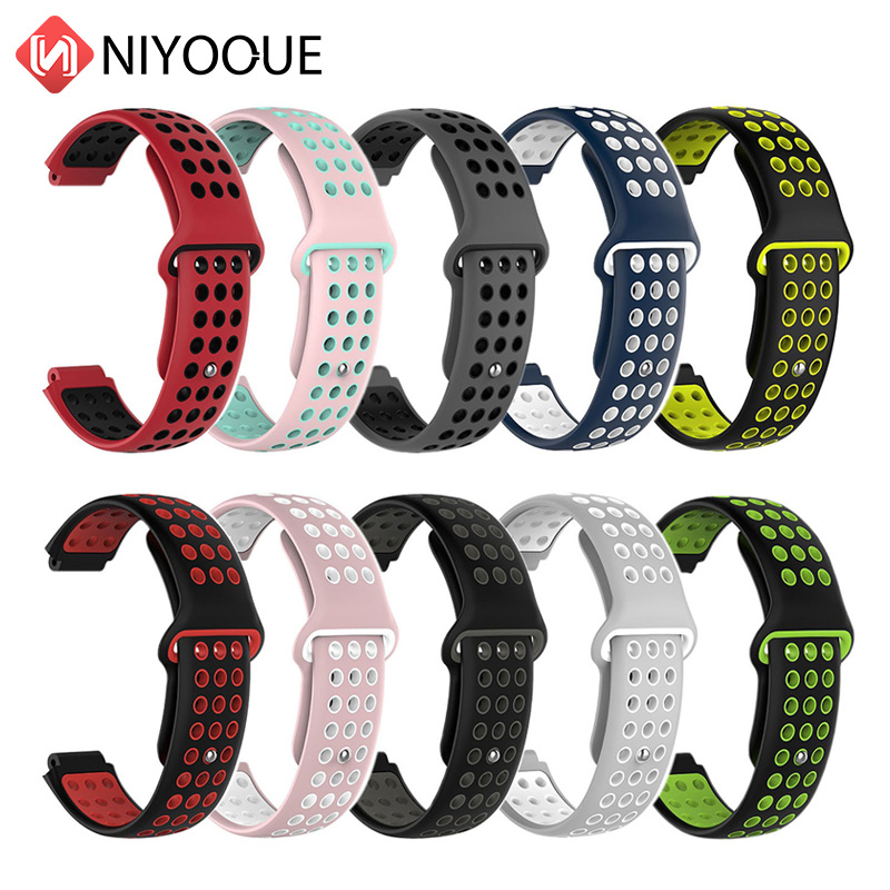 Bracelet Strap For Garmin Forerunner 220/230/235/620/630 Two Colors 2in1 Watchband Soft Silicone Replacement Wrist Watch Band