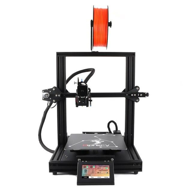Hiprecy LEO imprimante 3D, lit magnétique chauffant, tout métal, dimensions 230x220x260mm I3 KIT de bricolage, lit Hotbed, double axe Z, écran TFT