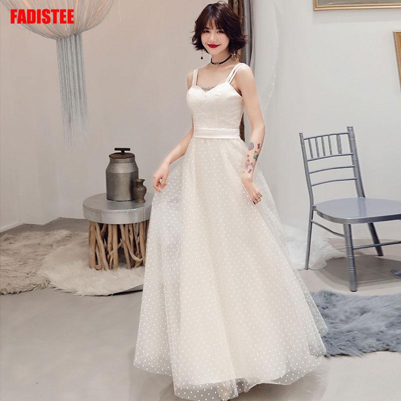 Elegant Prom Party Dresses  Vestido De Festa Dress Evening Long Frock Robe De Mariee Robe Communion Fille Ivory Lace Autumn