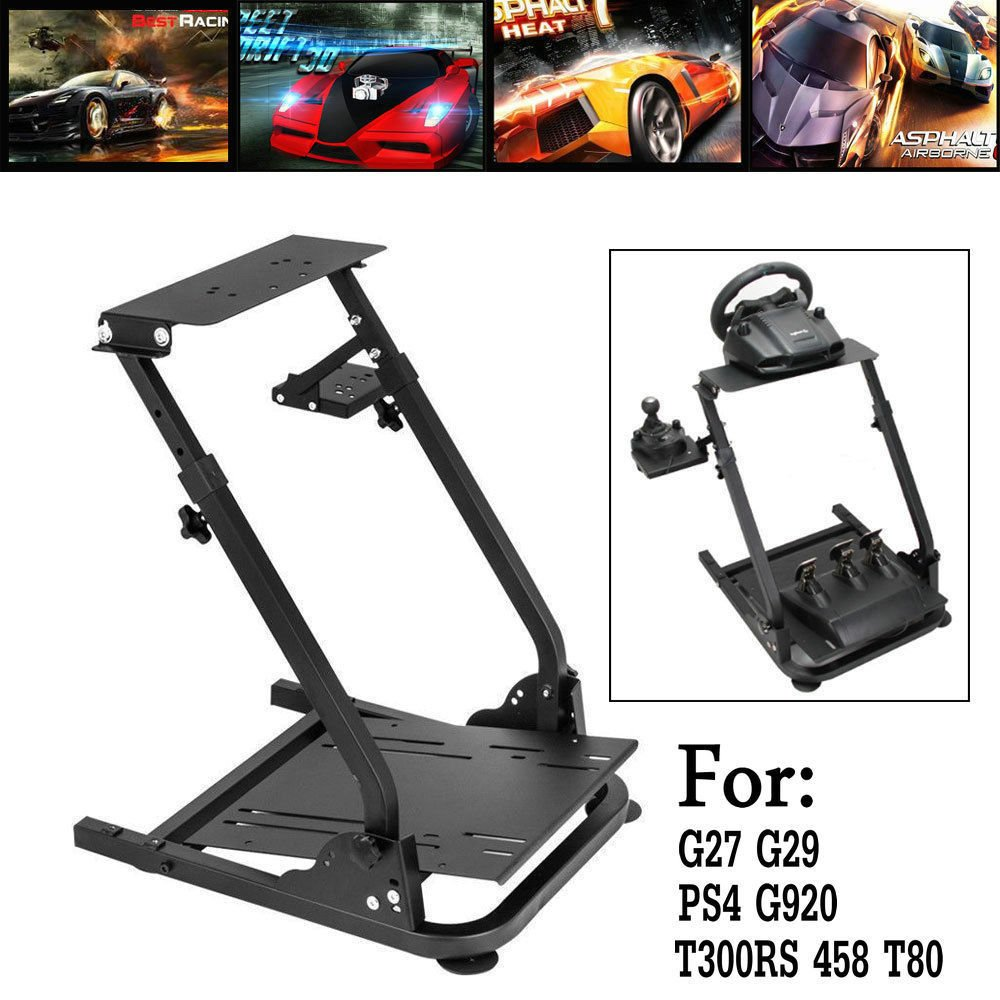Racing Simulator Steering Wheel Stand Logitech G920 Twin Spar Greater Rigidity For G27 G29 PS4 G920 T300RS 458 780