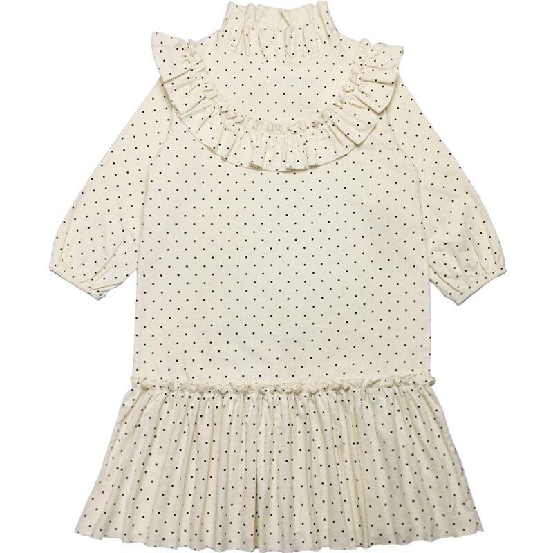 Image 3 - new 2020 baby princess dress girl Spring dress children cute dress kids dress for girls leisure toddler dot dress cotton,#5092Dresses   -