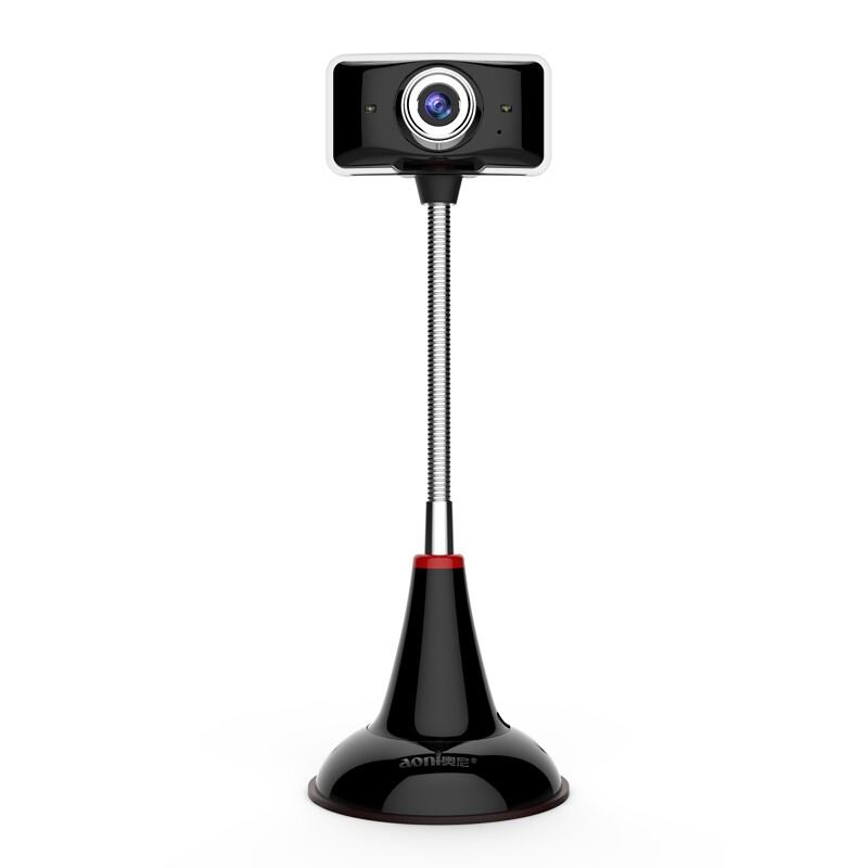 Aoni C11L HD webcam 720p computer camera with microphone hotel photo portrait collection teaching video USB plug and play webcam 1