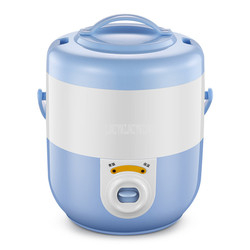 1.8L Mini Electric Rice Cooker Mechanical Type Non-stick Inner Tank Household Rice Cooking Machine With Steaming Layer RX-18C