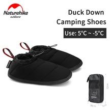 Naturehike открытый утка вниз лагерь обувь светильник сохраняет тепло водонепроницаемый низкая обувь Портативный противоскользящие износосто...
