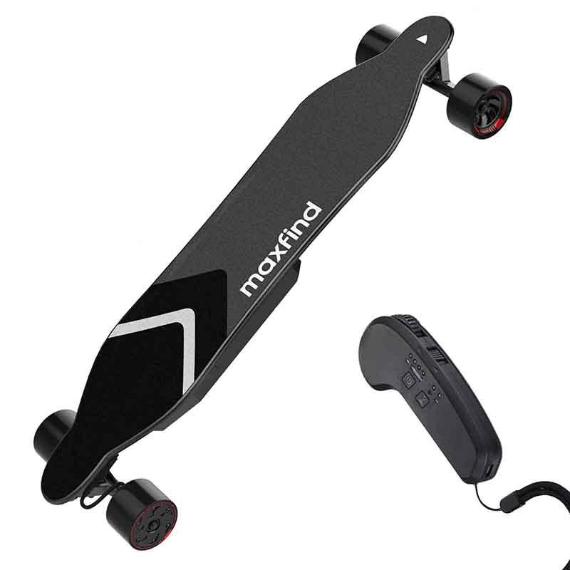 Electric Skateboard Bluetooth Remote Skate Board Braking Longboard Skate Board Waterproof Electric Scooters Skateboarding