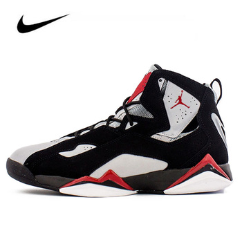 Nike Jordan Femme Nike Air Jordan 7 Men's Jordan Shoes Basketball Lace-up Gym Training Boots Sport Women Sneaker 342964-060