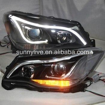 led FRONT LIGHT For Subaru Forester LED Head Lamp 2013-2017 LD