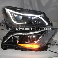 led FRONT LIGHT For Subaru Forester LED Head Lamp 2013 2017 LD
