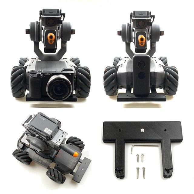 Kamera sportowa Insta 360 One X Gopro Canon uchwyt stały uchwyt Adapter stabilizator podstawa dla DJI Robomaster S1 Robot edukacyjny