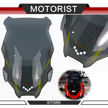 Motorcycle Accessories Windscreen Windshield Deflector Wind Screen Shield For ADV 150 ADV150 2019 2020